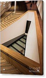 Staircase In Elbphiharmonic Acrylic Print