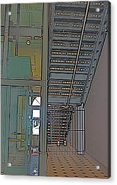 Staircase Acrylic Print by Alison Mae Photography