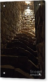 Staircase Of The Moorish Cistern-well In The Castle Of Silves Acrylic Print