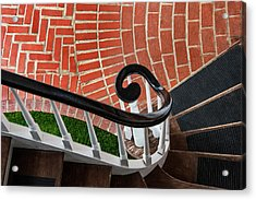 Staircase To The Plaza Acrylic Print