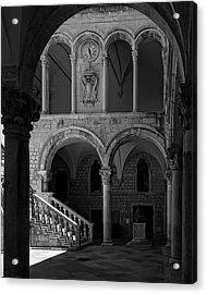 Stairs .... Acrylic Print by Mario Celzner