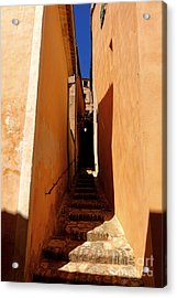 Acrylic Print featuring the photograph Stairs In Roussillon by Olivier Le Queinec