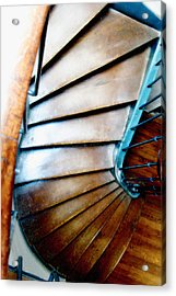 Stairs Paris Acrylic Print by Keith Campagna