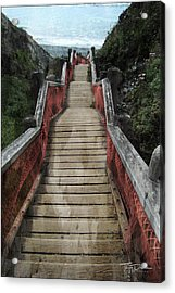 Stairs To Bliss Acrylic Print