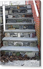 Stairs To The Plague House Acrylic Print by RC DeWinter