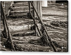 Stairs Under Sand Acrylic Print