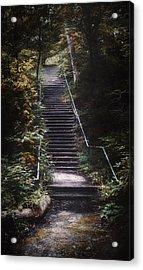 Stairway Acrylic Print by Scott Norris