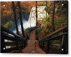 Stairway To Brandywine Acrylic Print by Rob Blair
