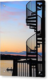 Acrylic Print featuring the photograph Stairway To Heaven by AnnaJanessa PhotoArt