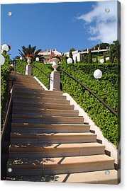 Stairway To Heaven Acrylic Print by Arik Baltinester