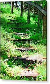 Acrylic Print featuring the photograph Stairway To Heaven by Donna Bentley