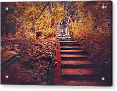 Stairway To Heaven In Riga Latvia  Acrylic Print