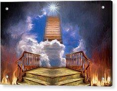 Stairway To Heaven Acrylic Print by John Haldane