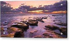 Stairway To Heaven Panorama Acrylic Print by Debra and Dave Vanderlaan
