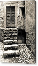 Stairway To The Past Acrylic Print by Emanuel Tanjala