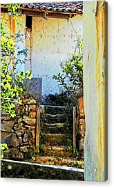 Stairway7880 Acrylic Print by David Mosby