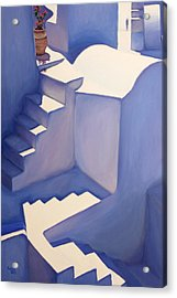 Stairways Acrylic Print by Patrick Parker