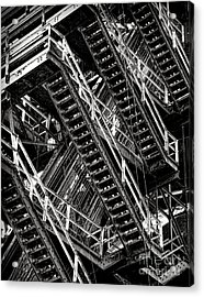 Stairwell Hell Acrylic Print