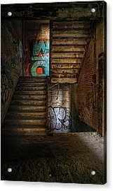 Stairwell Acrylic Print