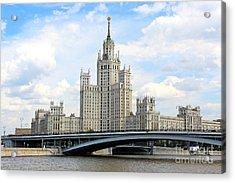 Kotelnicheskaya Embankment Building Acrylic Print