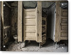 Acrylic Print featuring the mixed media Stalled by Terry Rowe