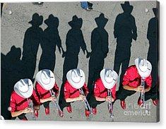 Acrylic Print featuring the photograph Stampede Brass Band by Wilko Van de Kamp