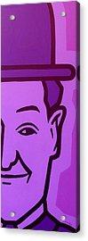 Stan Laurel Acrylic Print by John  Nolan