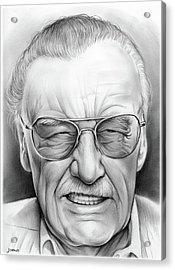 Stan Lee Acrylic Print