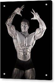 Stan, The Man, Mcquay Acrylic Print by Brian Broadway