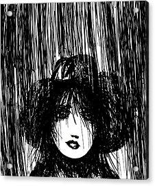 Stand In The Rain Acrylic Print