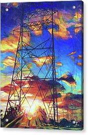 Stand Tall Acrylic Print by Bonnie Lambert