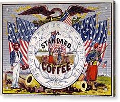 Standard Coffee Acrylic Print