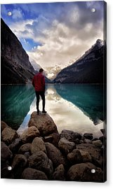 Standing Alone Acrylic Print