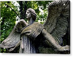 Acrylic Print featuring the photograph Standing Guard by Anne Raczkowski