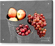 Acrylic Print featuring the photograph Standing Out As Fruit by Sherry Hallemeier