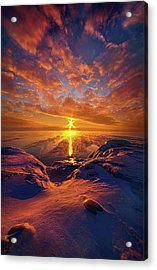 Acrylic Print featuring the photograph Standing Stilled by Phil Koch