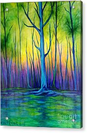 Standing Tall  Acrylic Print by Alison Caltrider