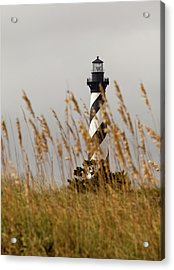 Acrylic Print featuring the photograph Standing Tall At Hatteras by Chris Babcock