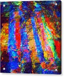 Standing Tall Like Trees Acrylic Print by Fania Simon