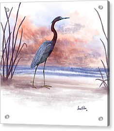 Acrylic Print featuring the painting Standing Tall by Sena Wilson