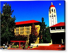 Stanford University - Stanford Ca Acrylic Print by Fareeha Khawaja