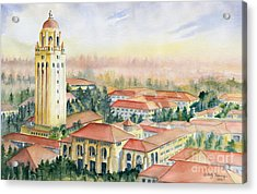 Stanford University California Acrylic Print by Melly Terpening