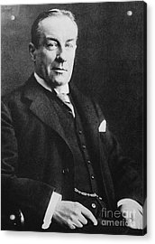 Stanley Baldwin, English Politician Acrylic Print by Photo Researchers
