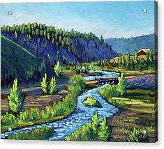 Stanley Creek Acrylic Print