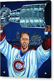 Stanley Cup - Champion Acrylic Print by Juergen Weiss