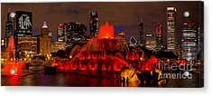 Stanley Is Back 2015 Acrylic Print by Jeff Lewis