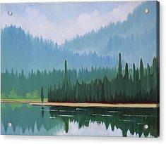 Stanley Lake - Far Shore Acrylic Print