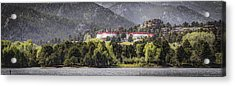 Stanley With Fisher Girl Pano Acrylic Print