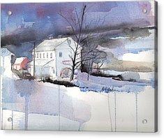 Stanton's Mill December Acrylic Print