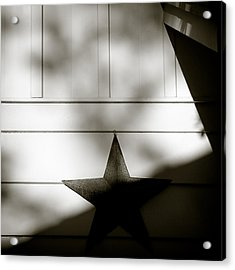 Star And Stripes Acrylic Print by Dave Bowman